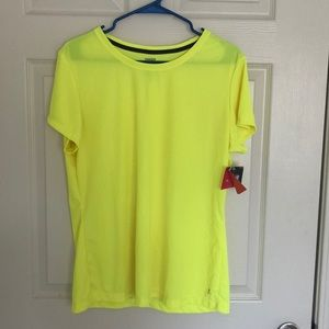 Bright Yellow Work Out Top
